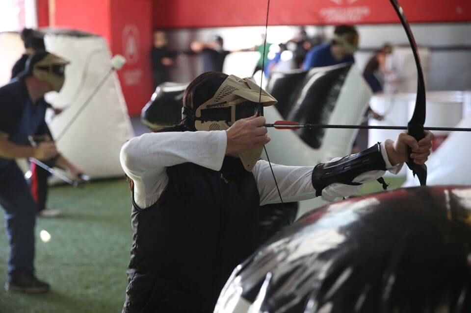 Archery Tag, pursuing authentic writing