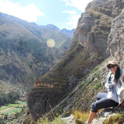 Me on a mountain in Peru