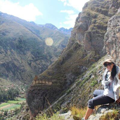Me on a mountain in Peru