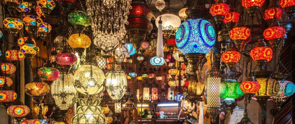 Lanterns in Grand Bazaar