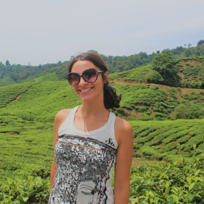 Me in a Malaysian tea plantation