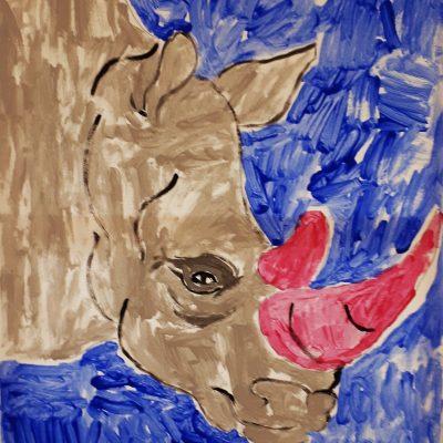 rhino canvas navy