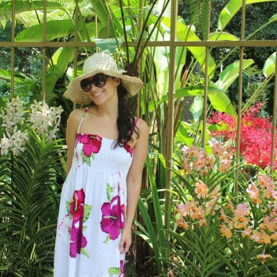 me in orchid park